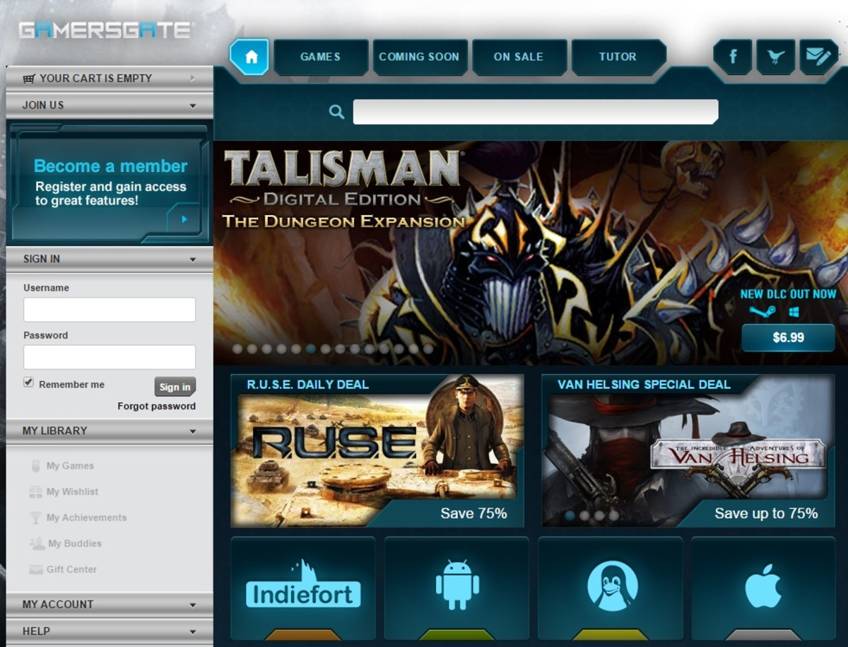 gamersgate website. 9 Steam Alternatives   Sites Like Steam To Buy PC Games Online