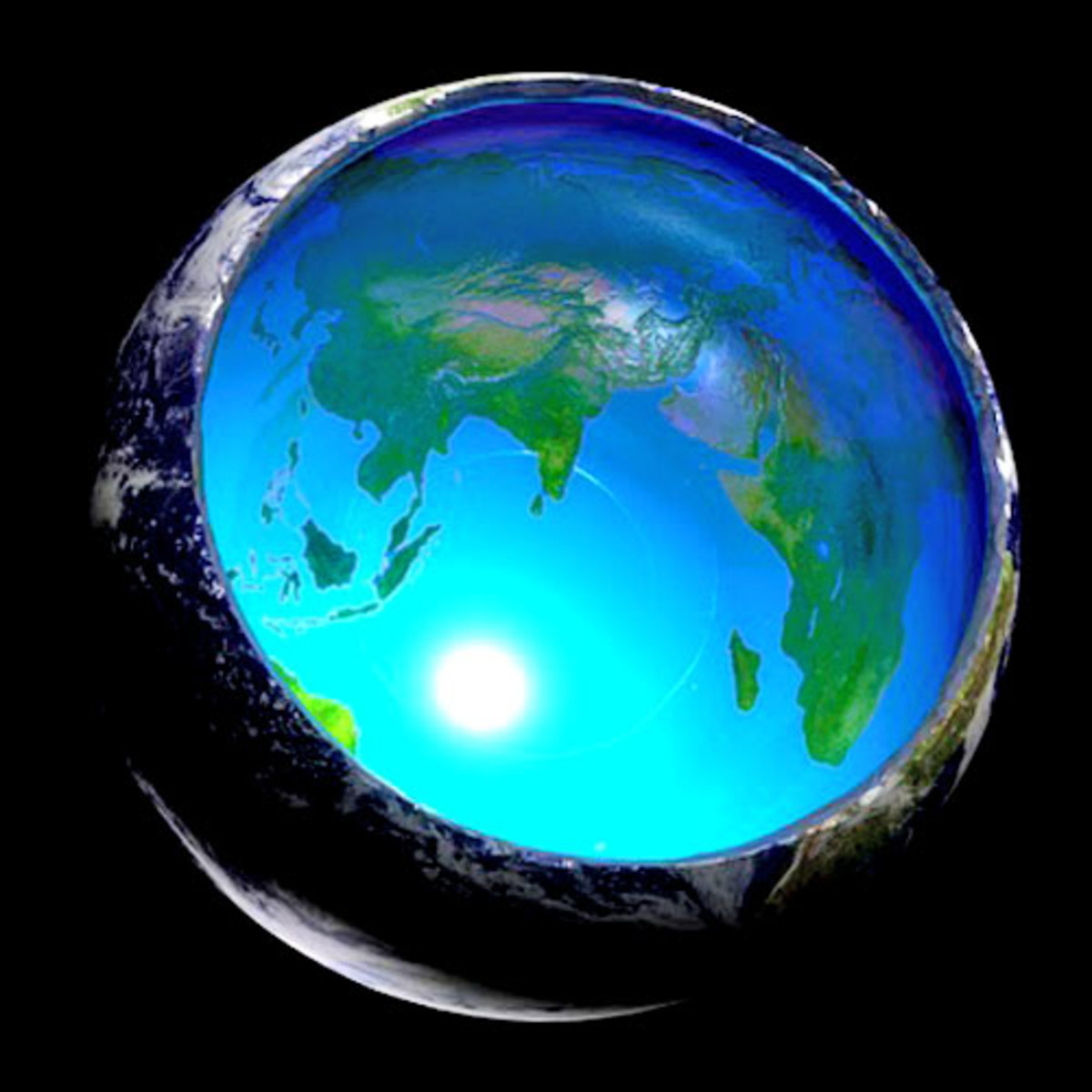 Hollow Earth, No Fly Zones, Polar Openings and 'Science'