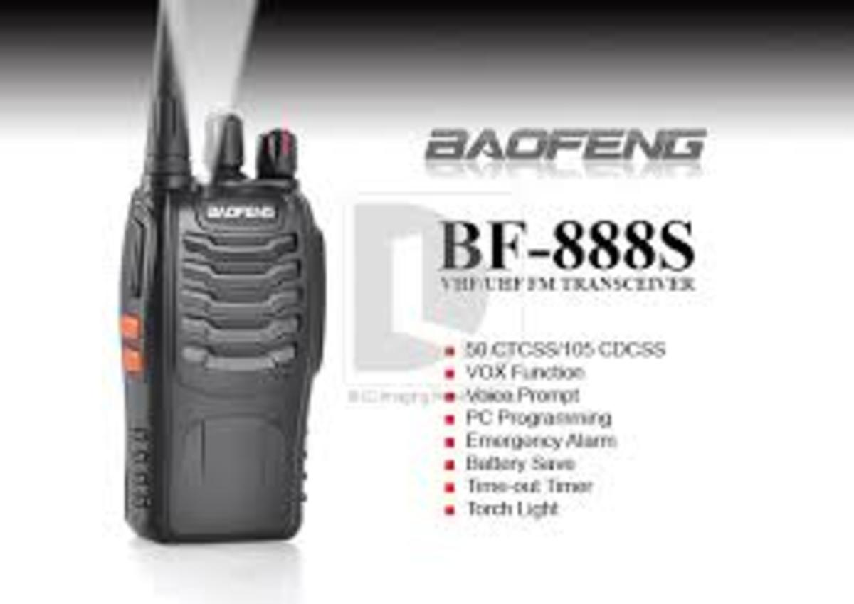 Review of the Baofeng BF-888S UHF FM Handheld Transceiver