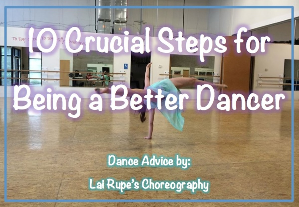 10 Crucial Steps for Being a Better Dancer