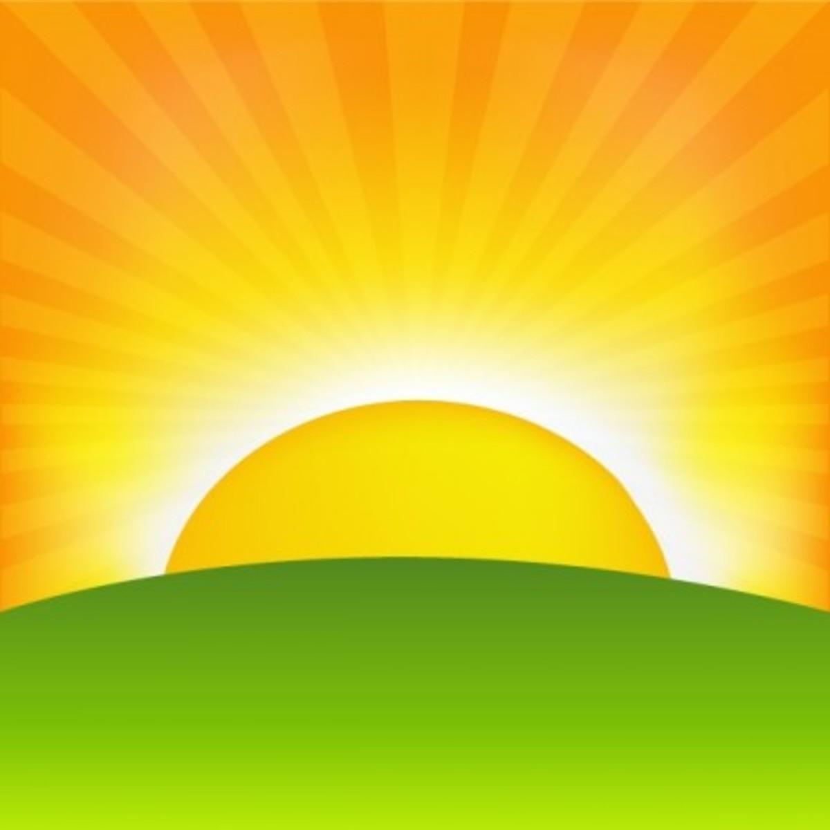 Sunrise clip art
