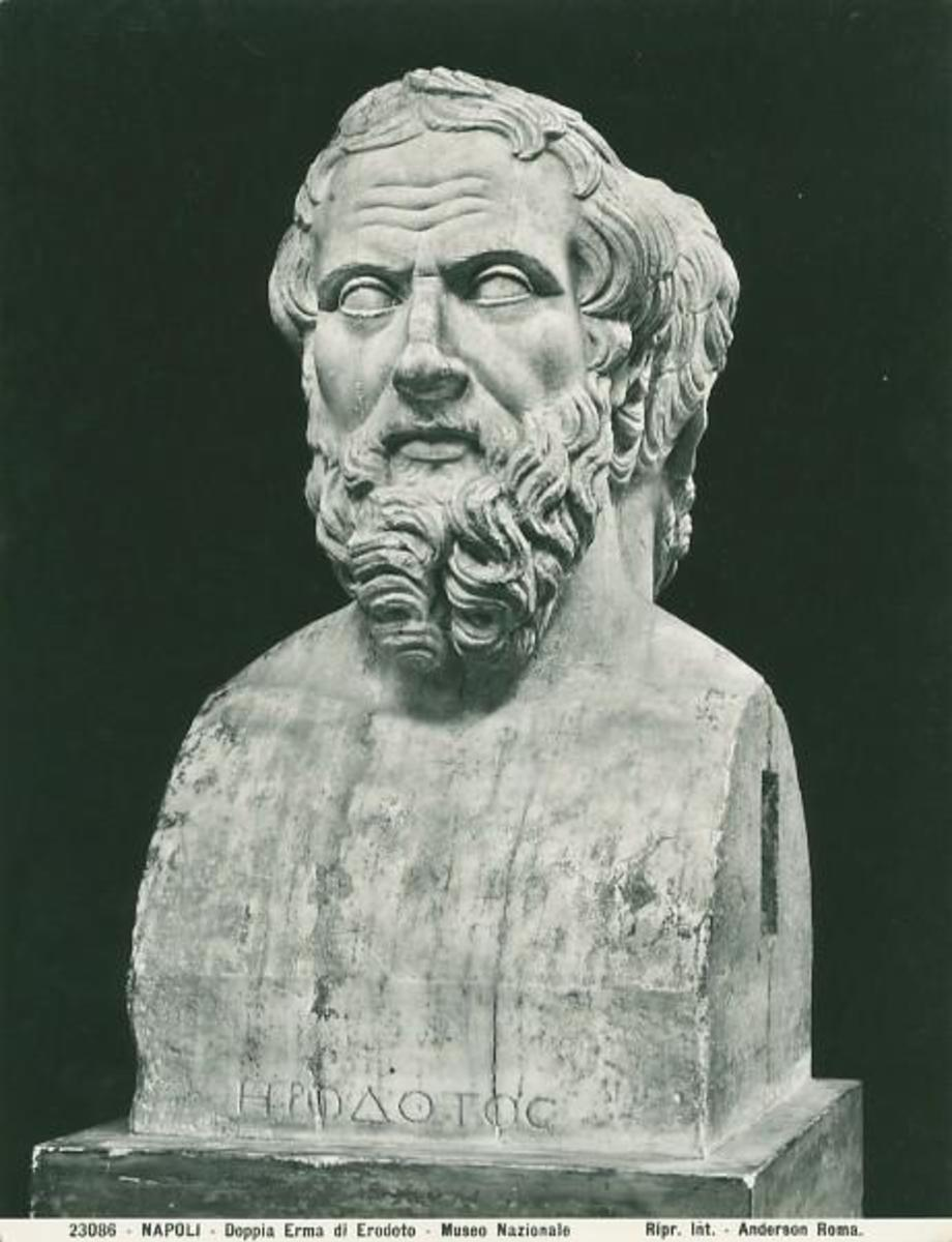 an introduction to the life of herodotus of halicarnassus Herodotus of halicarnassus  a man's life ends on the day they assign to him,  (the archaeology 11-23) to herodotus' introduction .