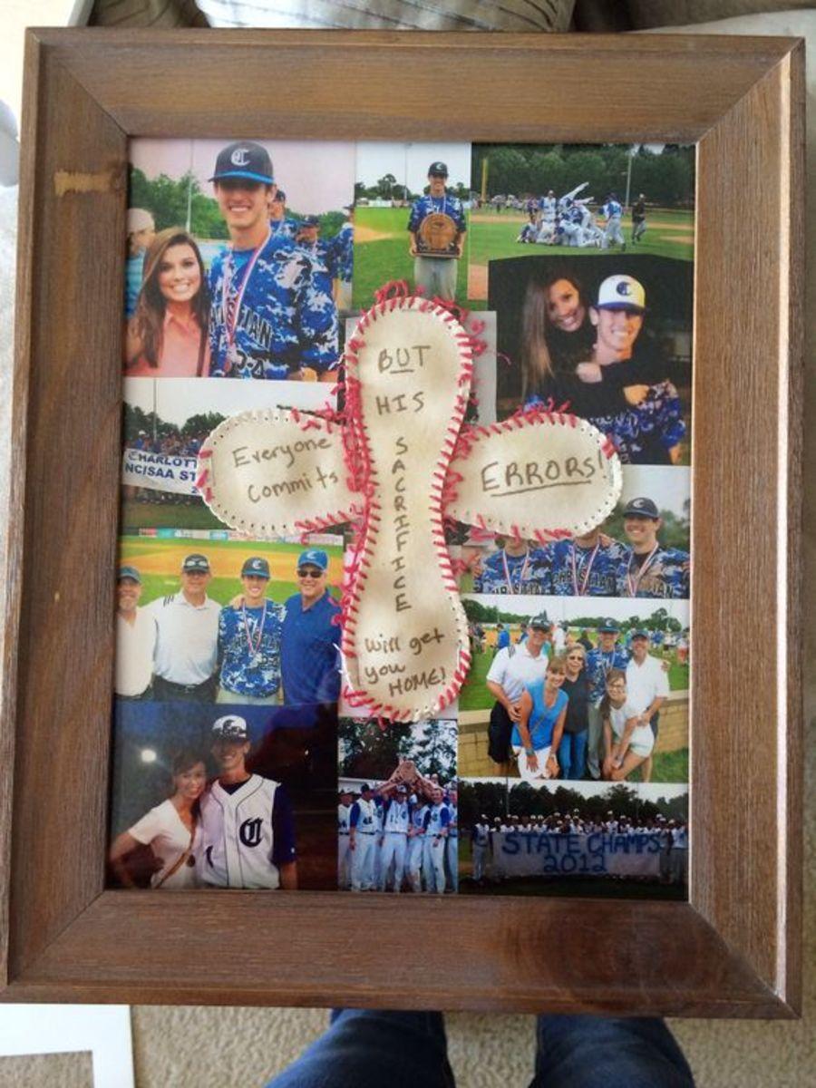 Baseball Craft Photo | DIY Christmas Gifts for Boyfriends