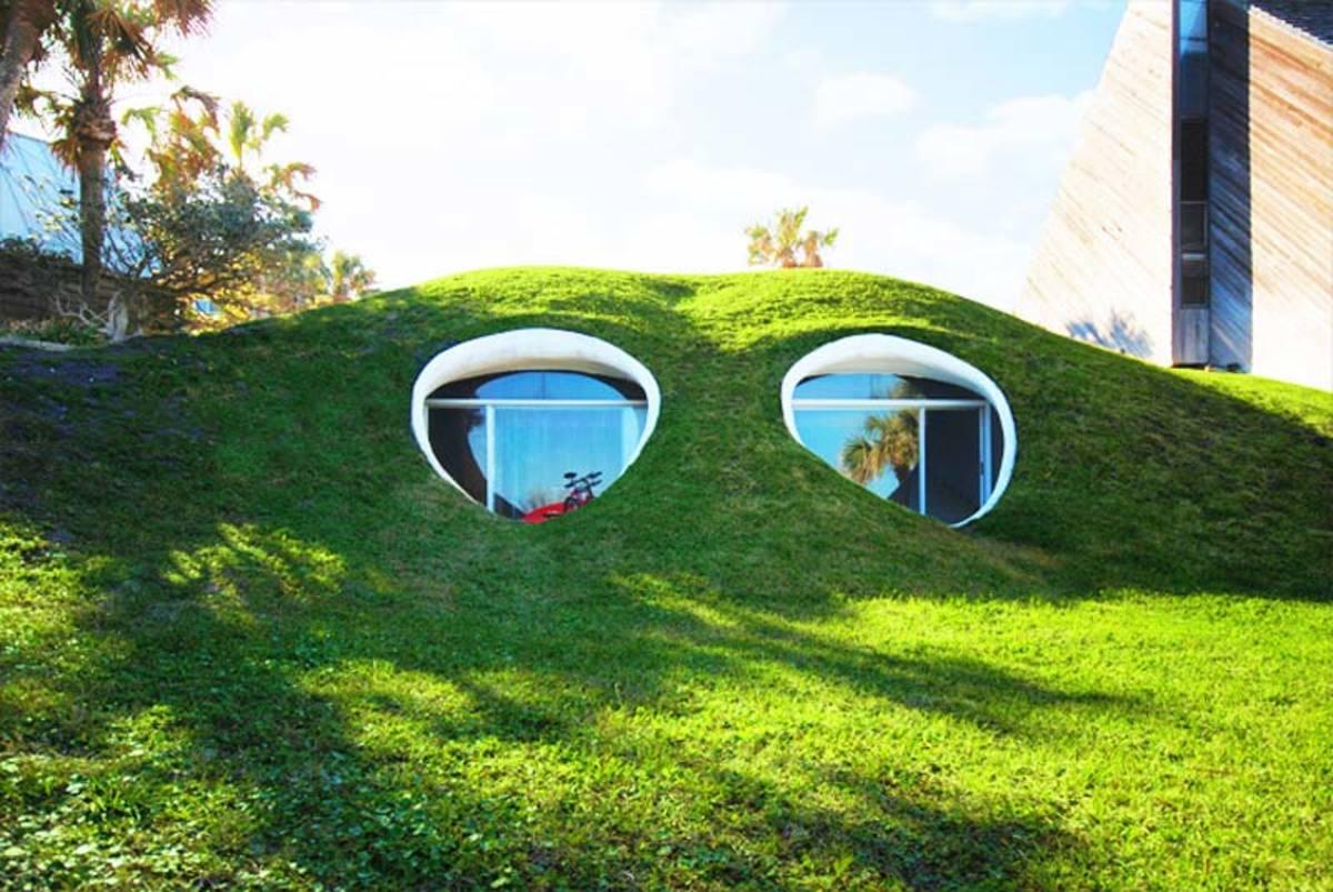 A dune house