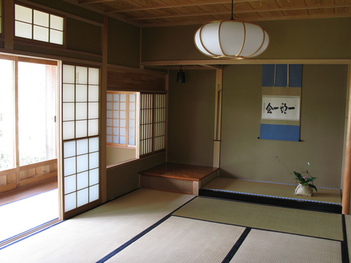 The simple design of the Japanese house