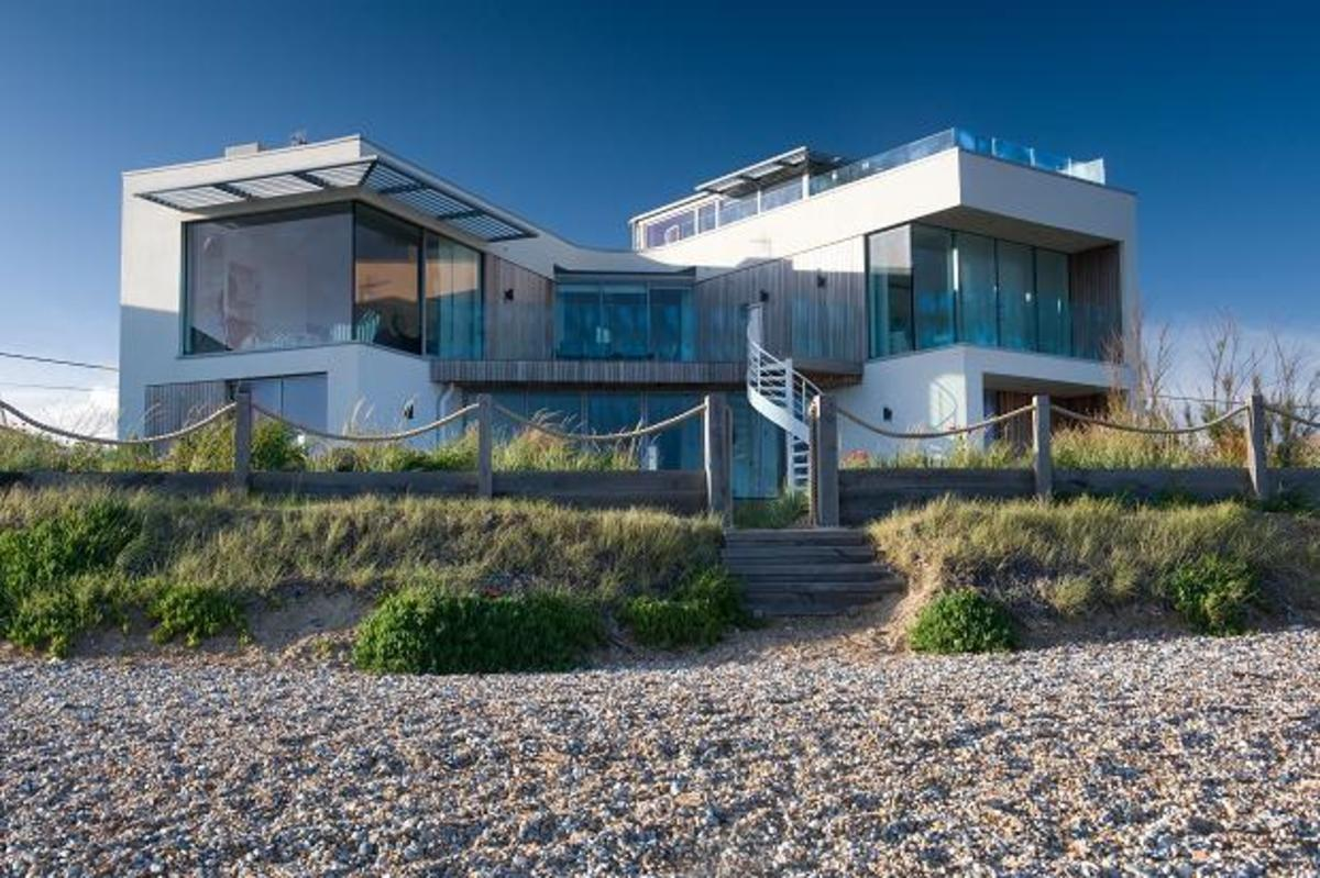 Can it get any closer - a beach house in East Sussex, UK