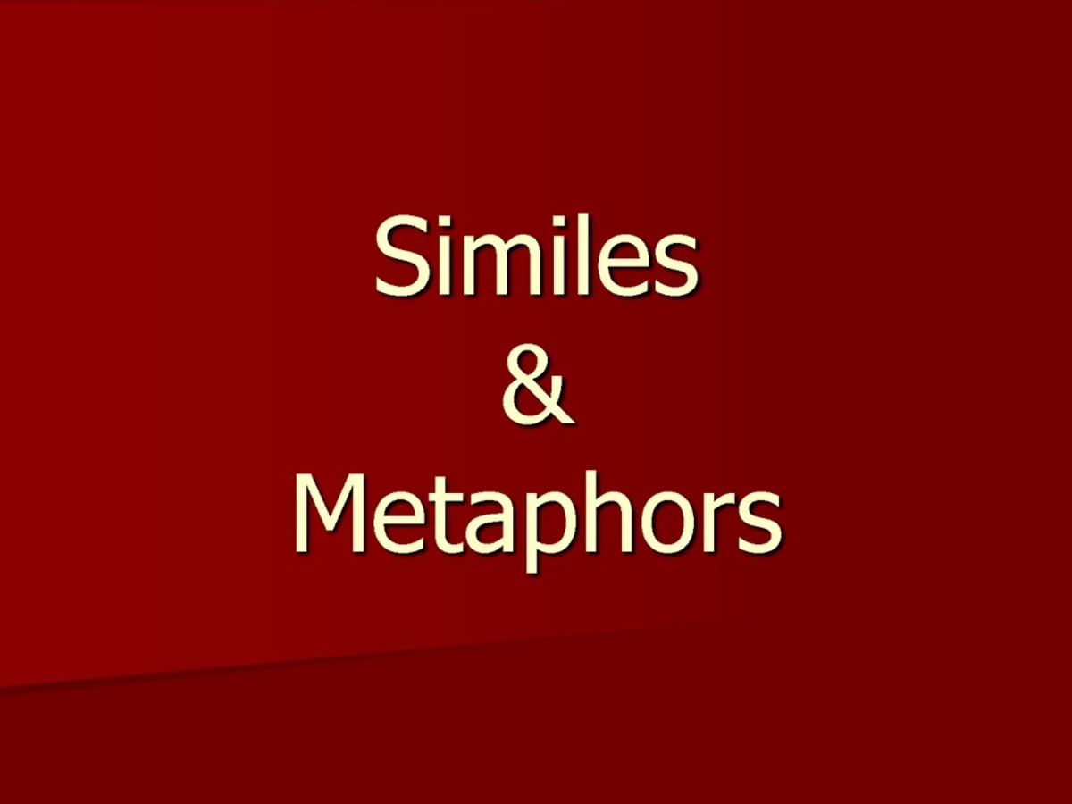 Definition of Simile and Metaphor