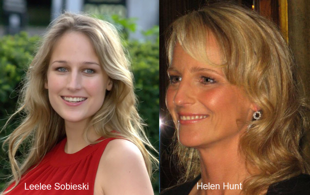 Helen Hunt and Leelee Sobieski