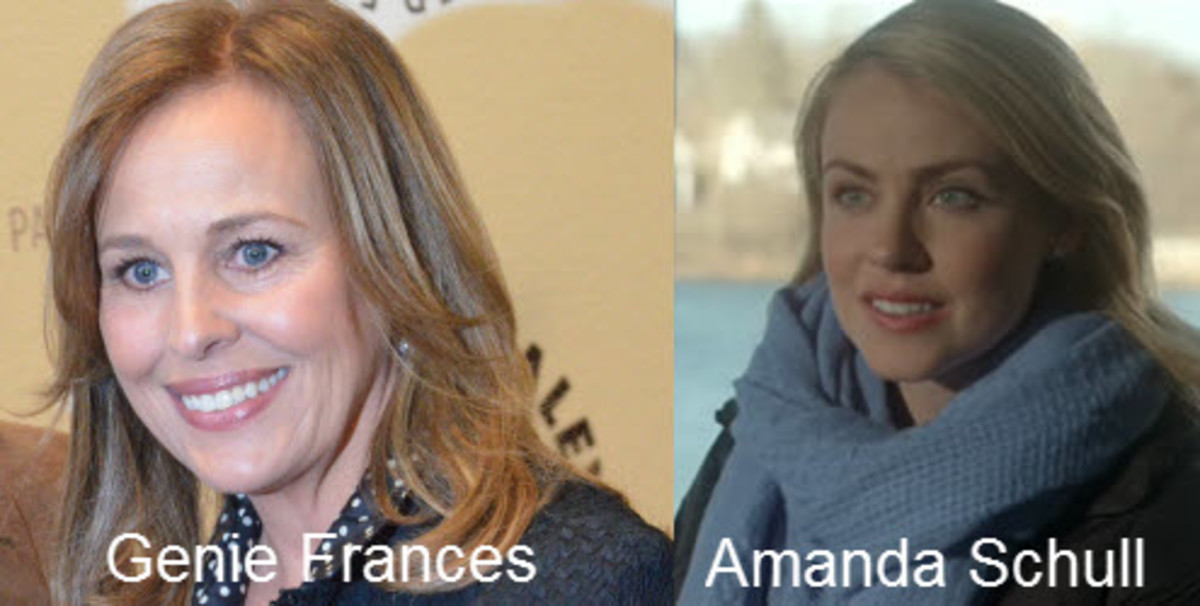 Genie Frances and Amanda Schull