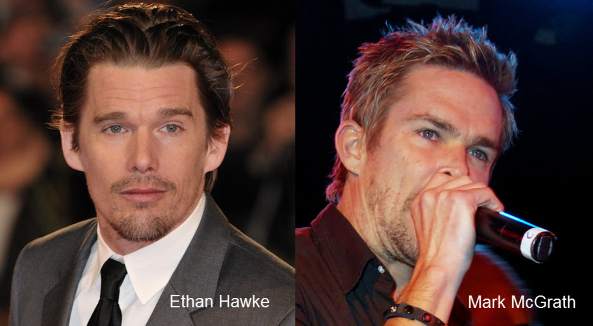 Ethan Hawke and Mark McGrath