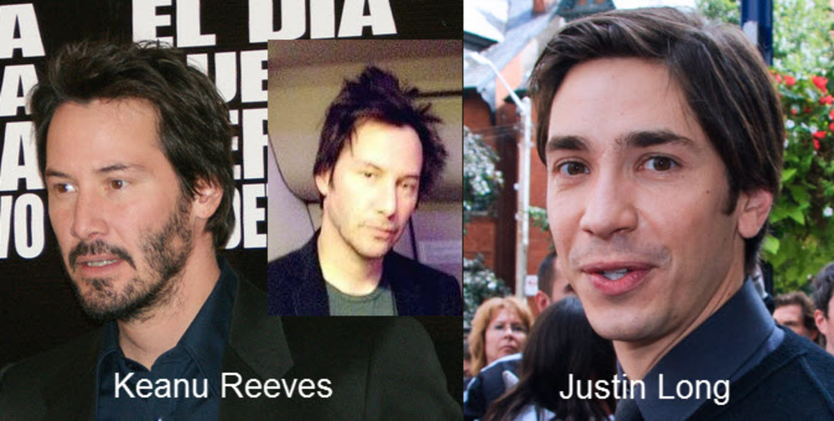 Keanu Reeves and Justin Long