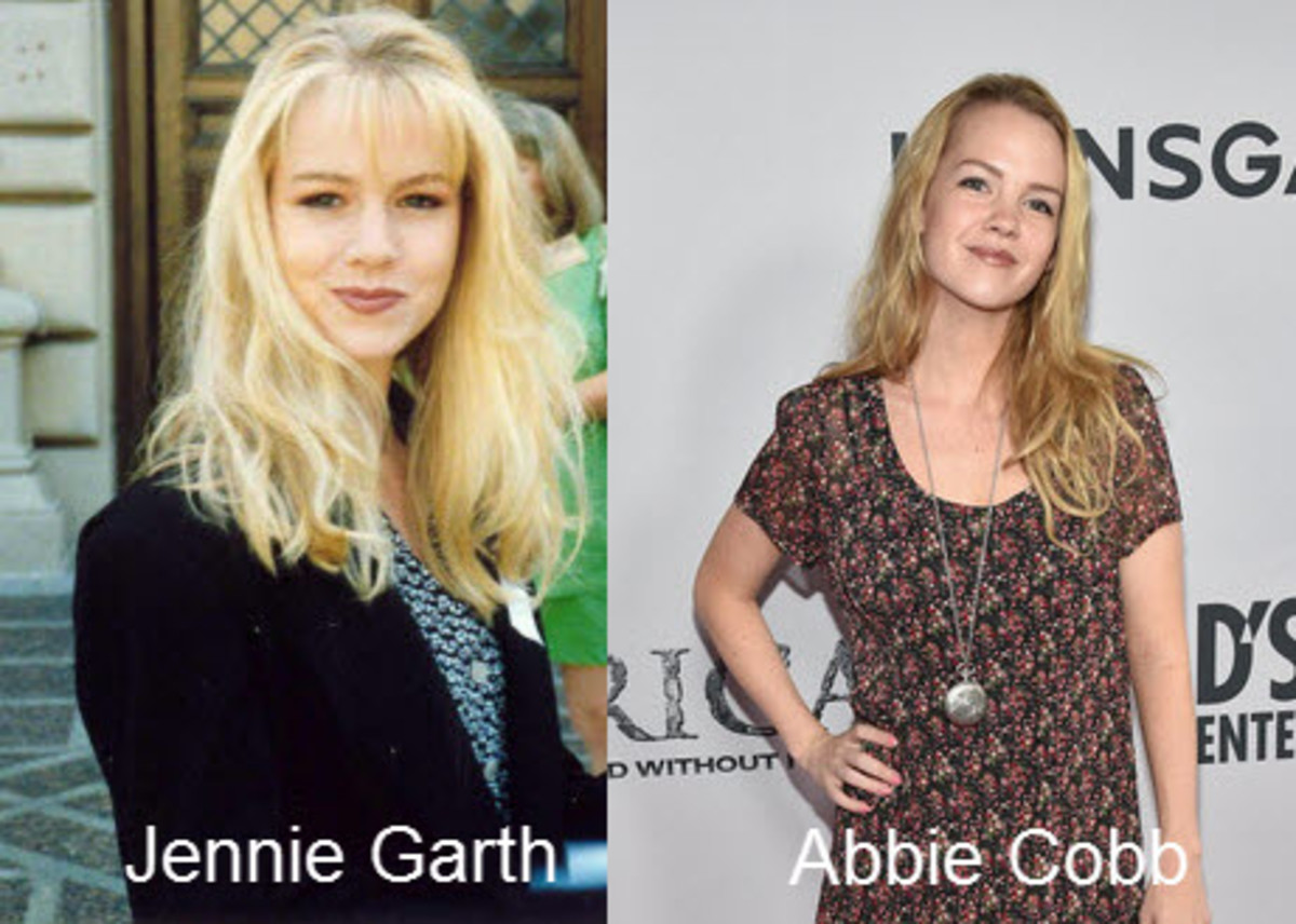 Jennie Garth and Abbie Cobb