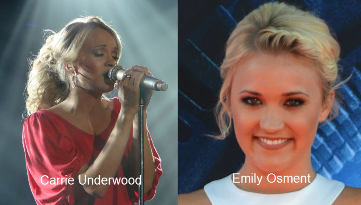 Emily Osment and Carry Underwood