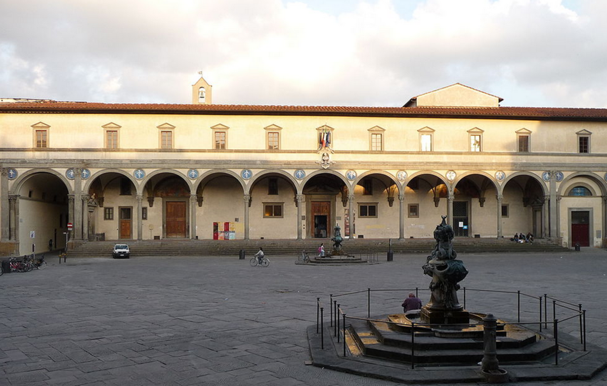 Ospedale degli Innocenti, Florence Italy Established as an orphanage in 1419
