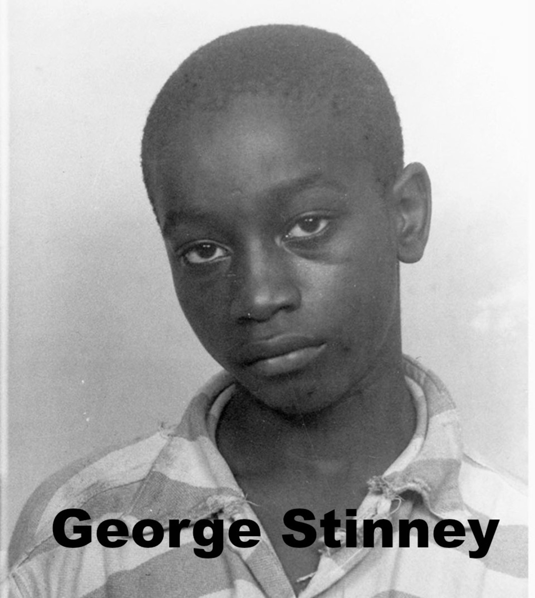 George Stinney was 14 years old when this mug shot was taken.