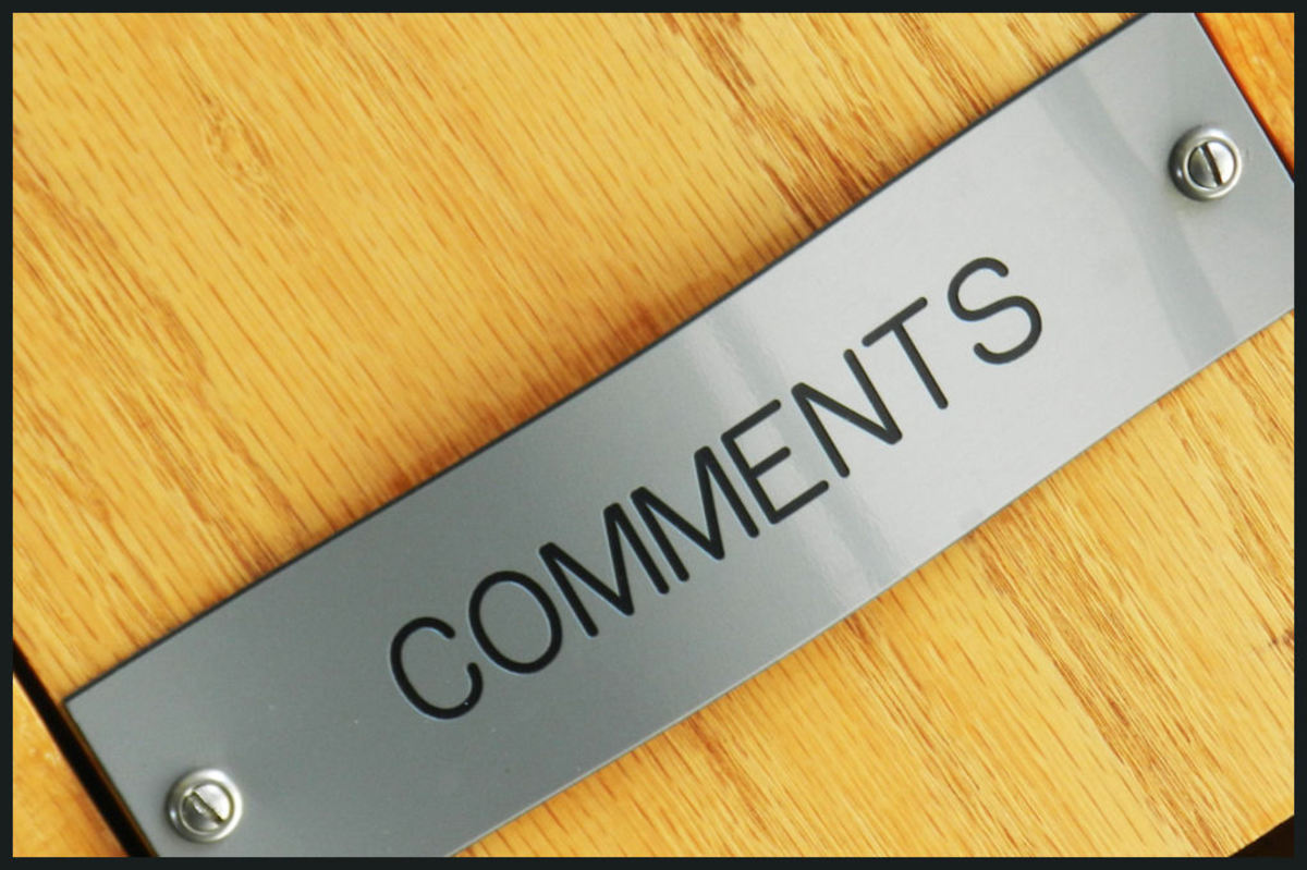 How to be a better commenter