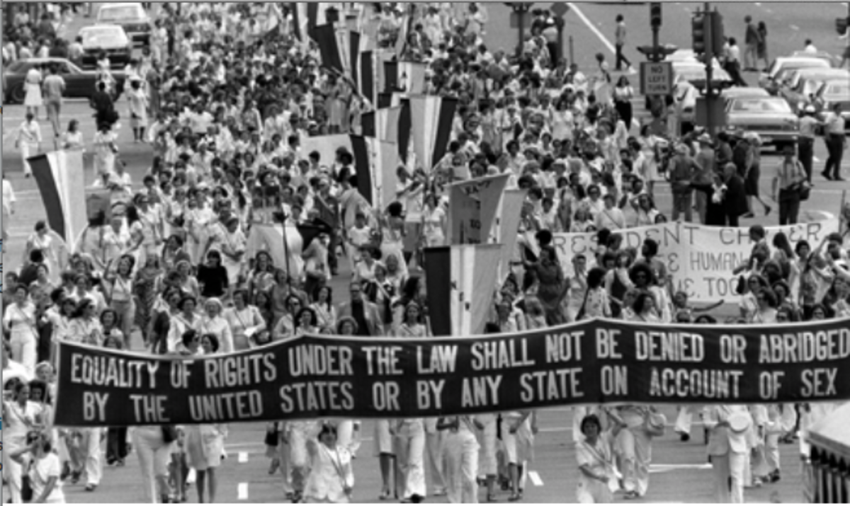 US Women's Rights Movement Timeline 1848 – 2014