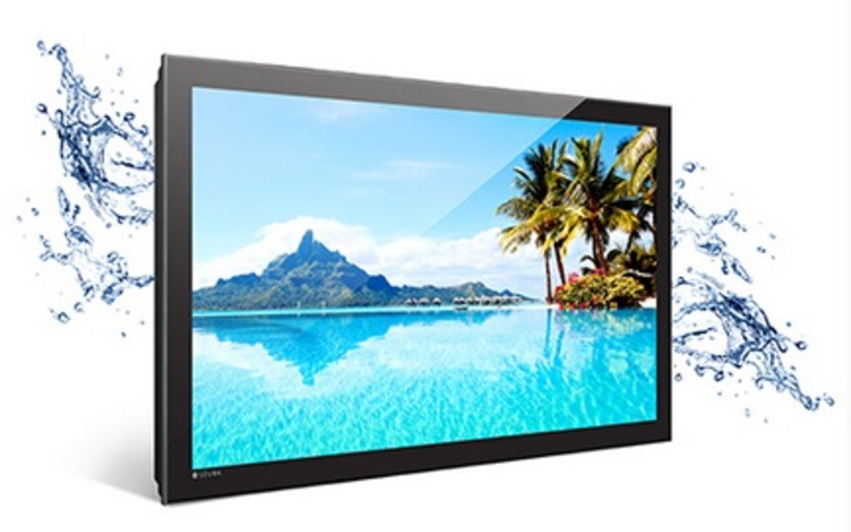 TV Made in the USA: Weatherproof Storm TV by Séura