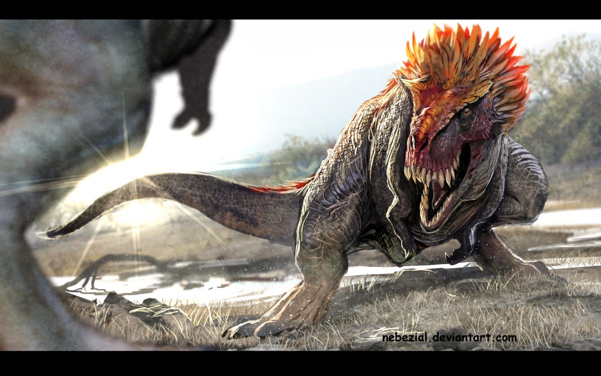 How do people not like the idea of feathered dinosaurs being awesome? This guy is.