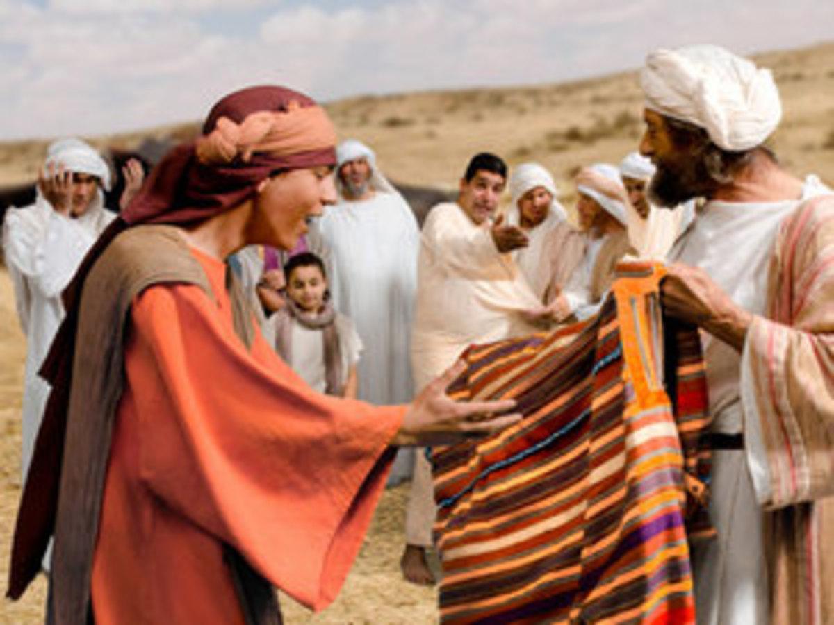 Joseph, Jacob, coat of many colors. Free Bible Images - Big Book Media