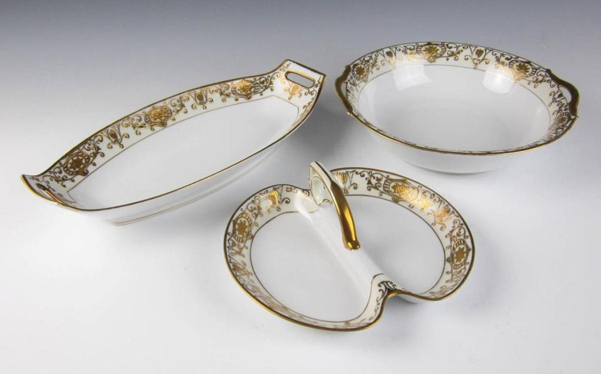 Here are three different serving trays or bowls.