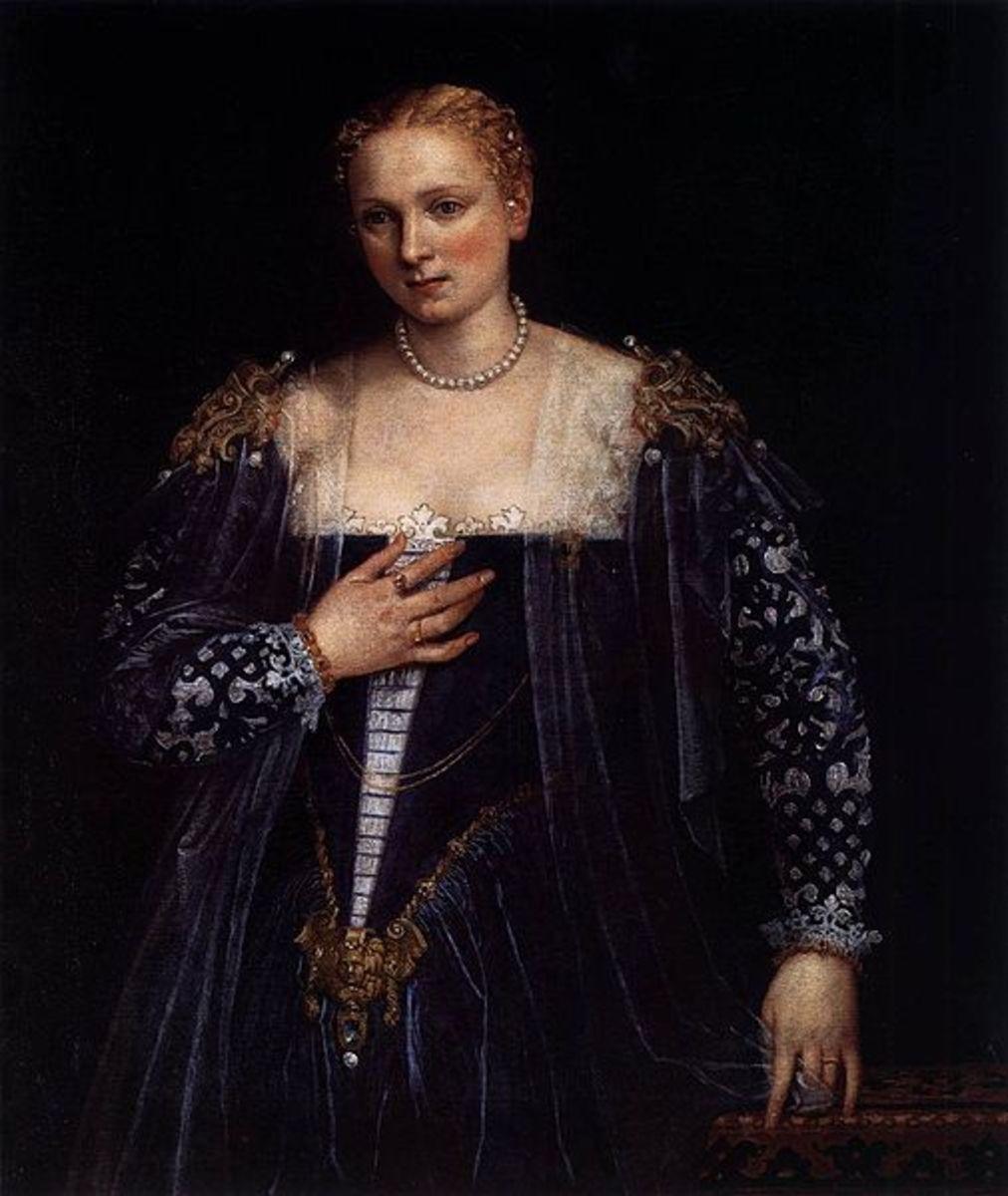 Paolo Veronese, Bella Nani (1555-1560), Paris Musée du Louvre