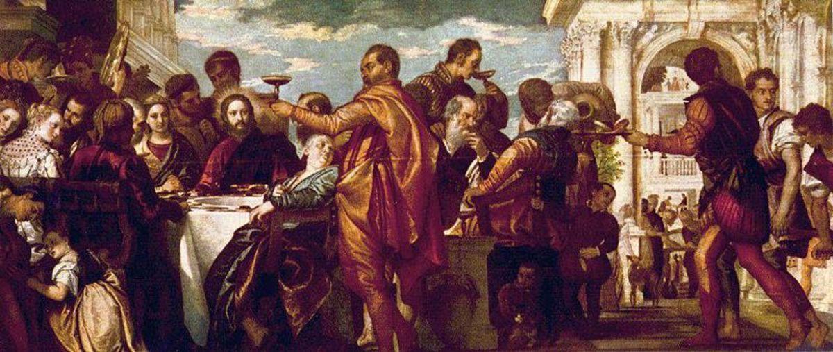 Paolo Veronese, Wedding  at Cana (1571-1572), Dresden Gemäldegalerie