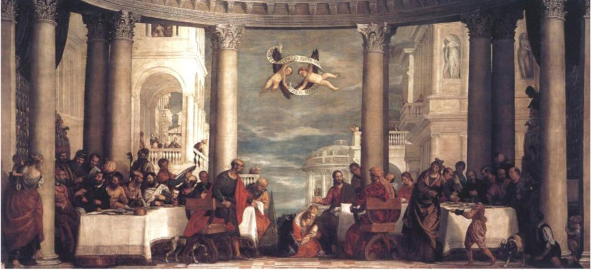 Paolo Veronese, Feast in the House of Simon (1570-1572), Versailles