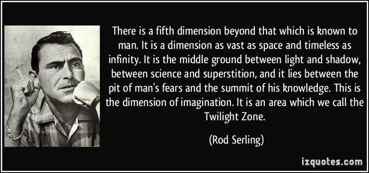 A Video Biopic of Twilight Zone Creator, Rod Serling: Part 1