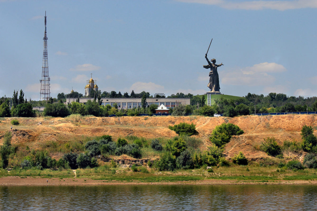 The Battle Memorial of Stalingrad