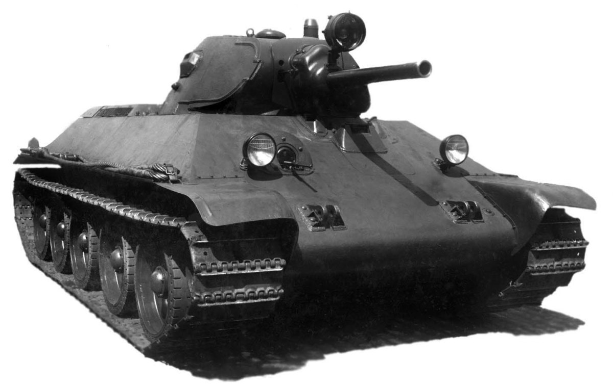 The 1940s version of the T-34. The T-34 would be used for the first time in mass during the Battle for Stalingrad.
