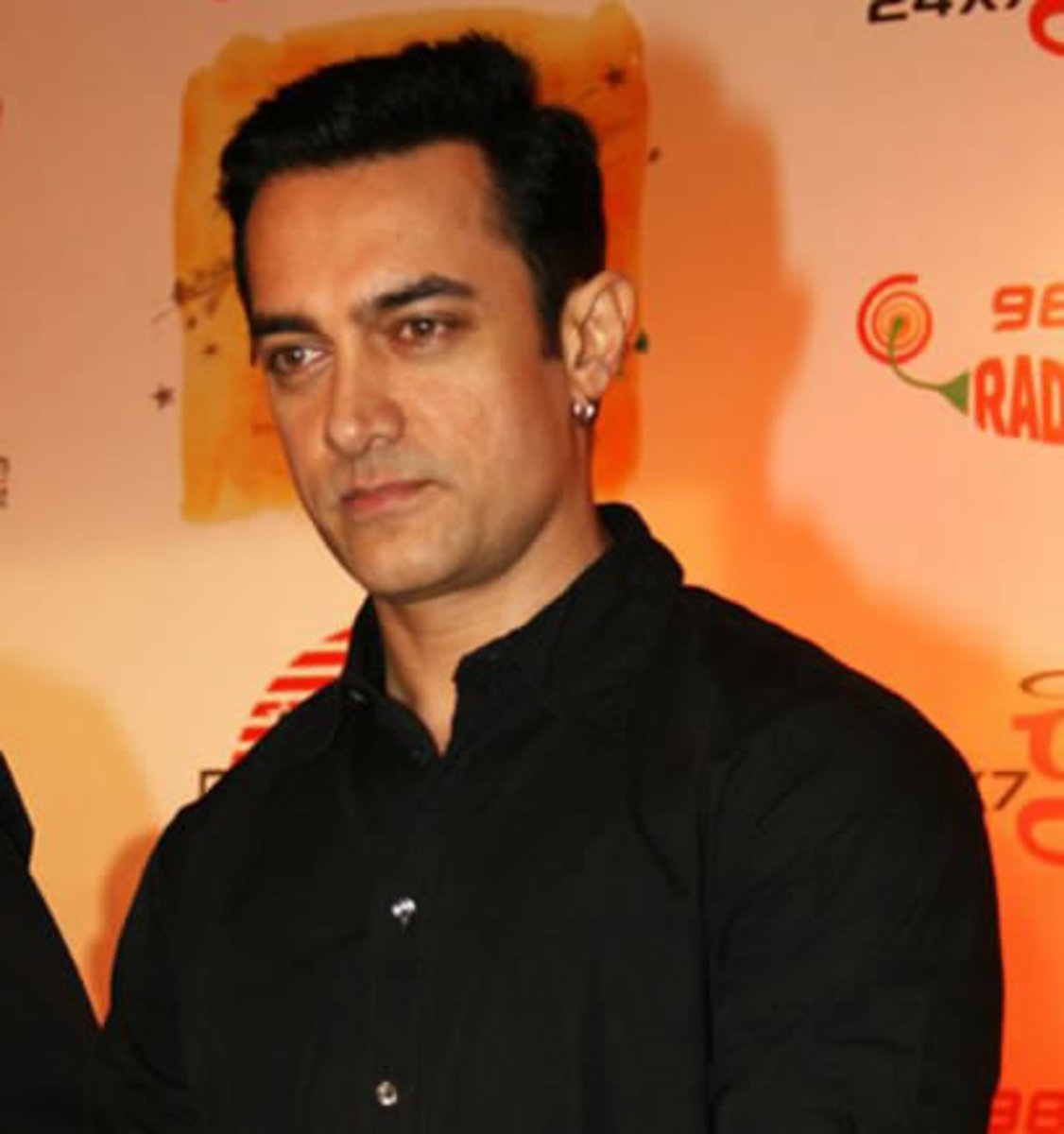 Aamir Khan; Get this dude a box of band-aids because he is cut-up (in the movie)