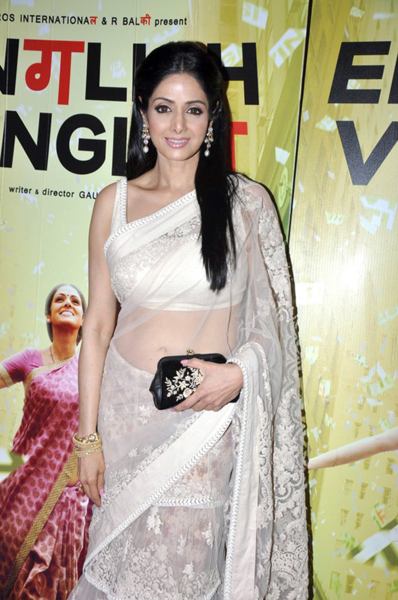 Sridevi, a single-name actress, that means she's a legend