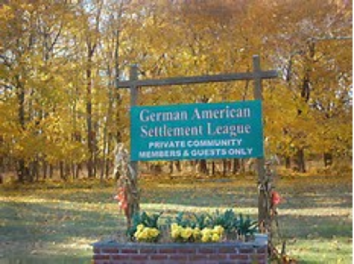 A large contingent of Germans settled near Montauk Point Long Island, New York and introduced an eugenics program of sterilization and Aryan influence.