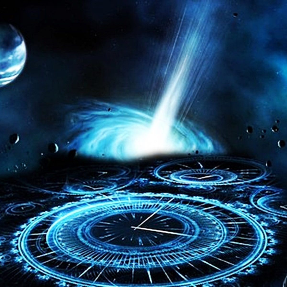 Wormholes through the 4th dimension could be used for more than just 'time travel' by linking planets and destinations in fixed portals.