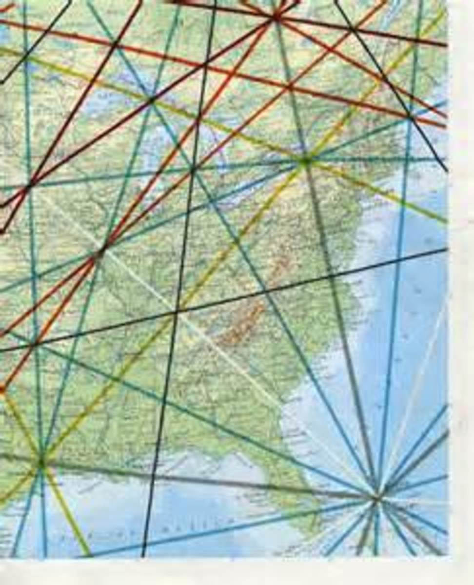 What is interesting to note is that the ley line that passes through Montauk, NY, intersects with the Bermuda Triangle.