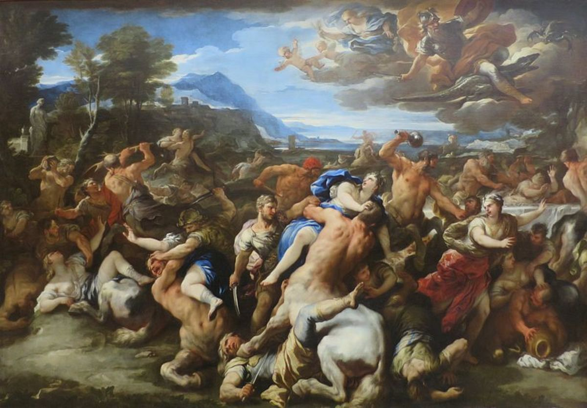 Luca Giordano, The Hermitage PD-art-100