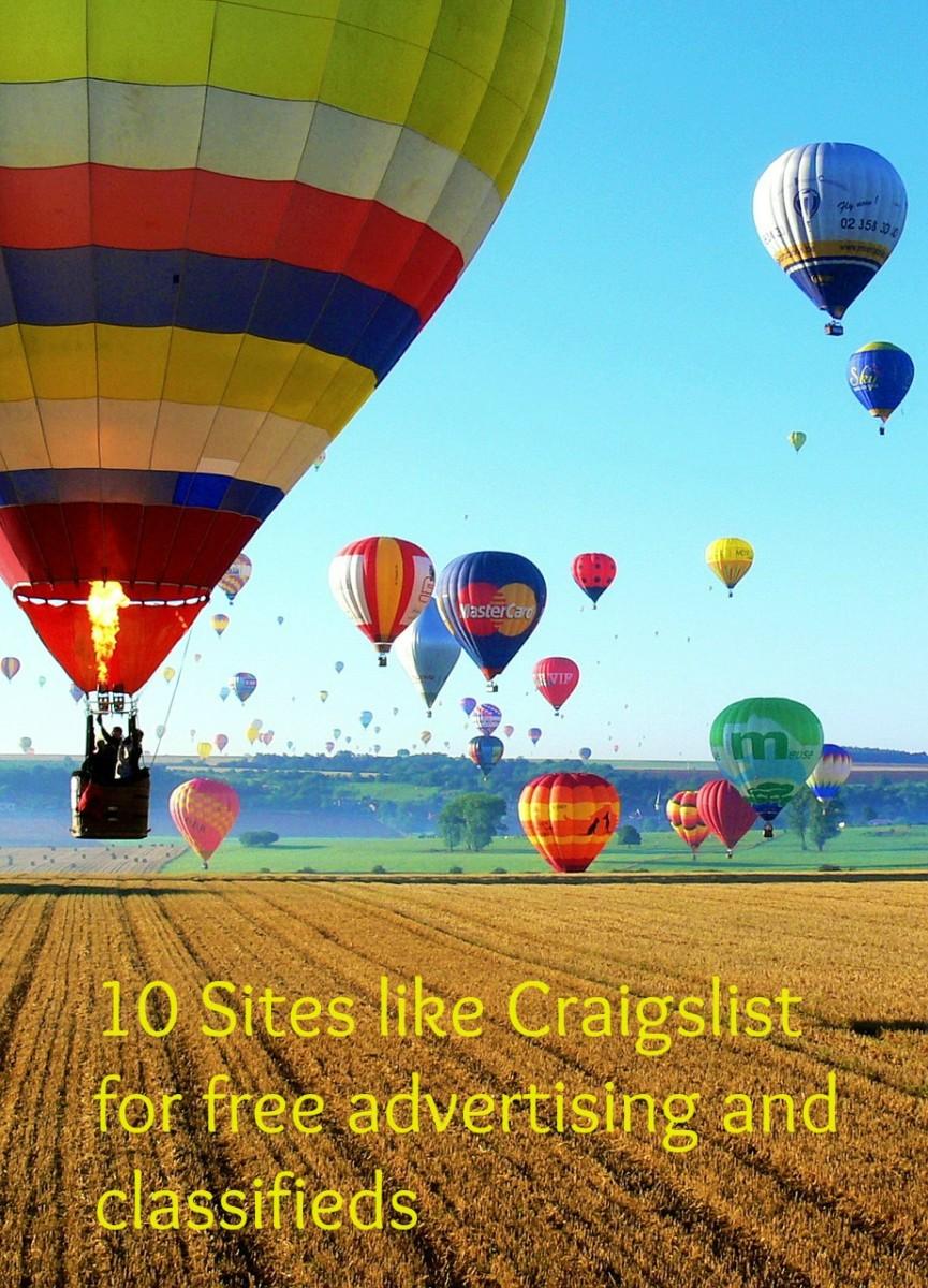 10 sites like craigslist for free advertising hubpages for Trading websites like craigslist
