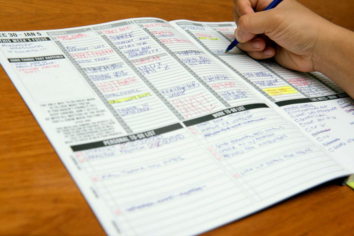 Get a planner