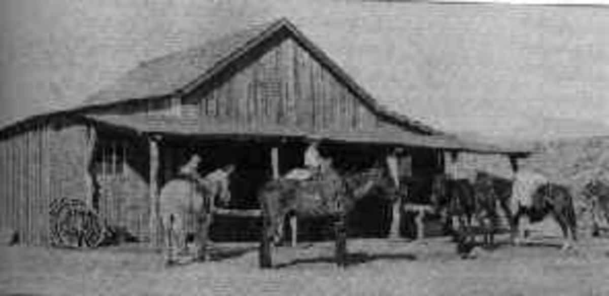 The general store at Klondyke in 1910