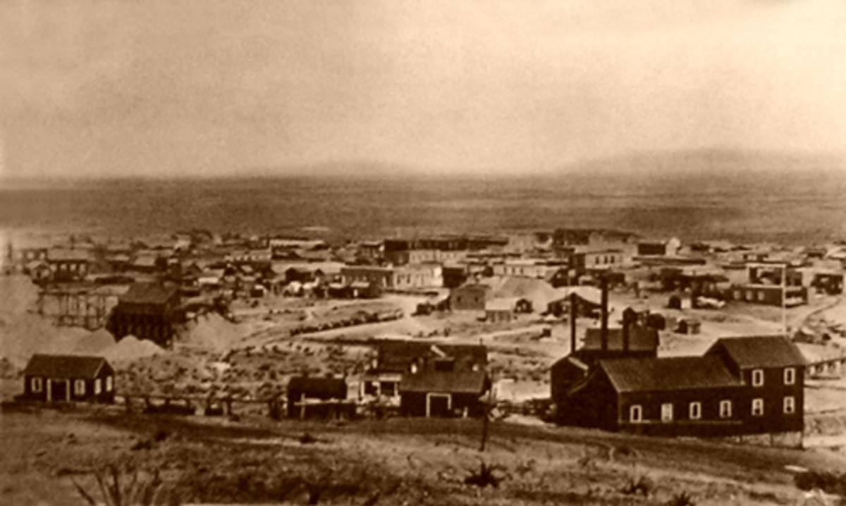 Tombstone Arizona in 1891