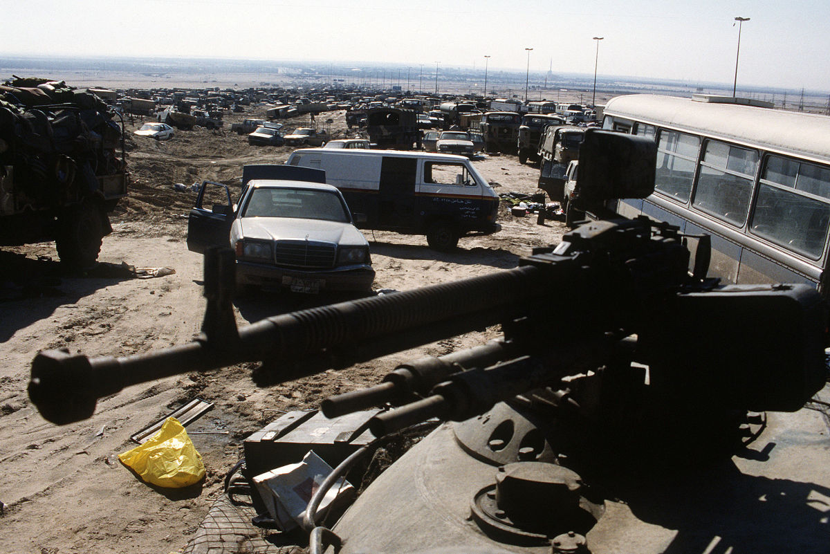 Highway of Death Kuwait 1991