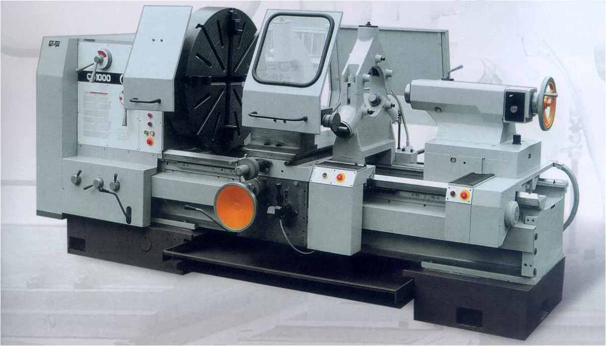 Lathe machine: An engineering machine.