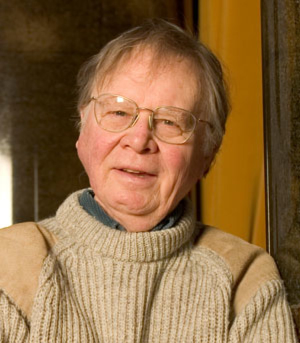 """Wally"" Broecker, Newberry Professor of Geology, Lamont-Doherty Earth Observatory, Columbia University."