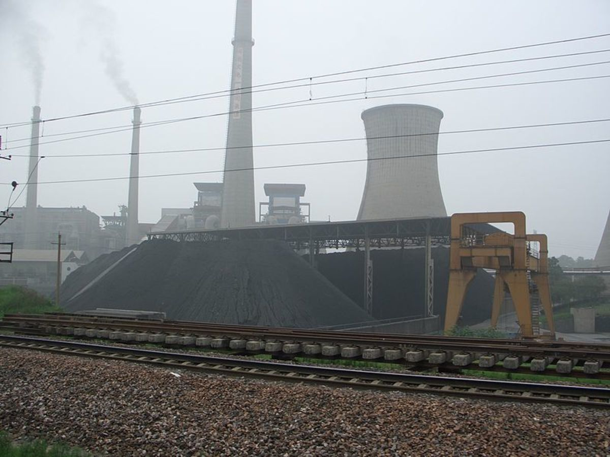 A Chinese coal-fired power plant.
