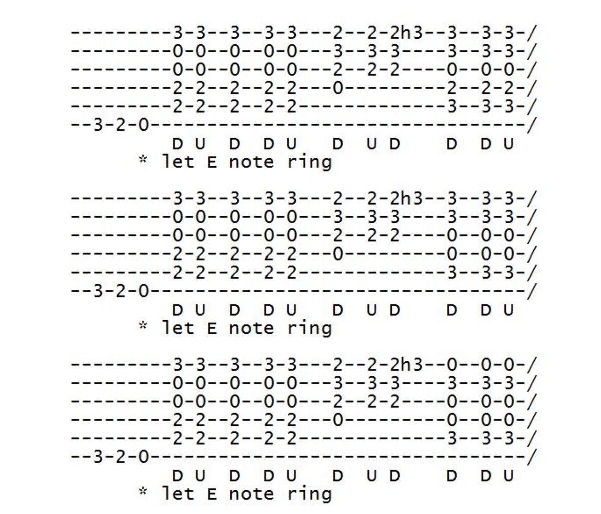 beginner nothing else matters easy guitar parts