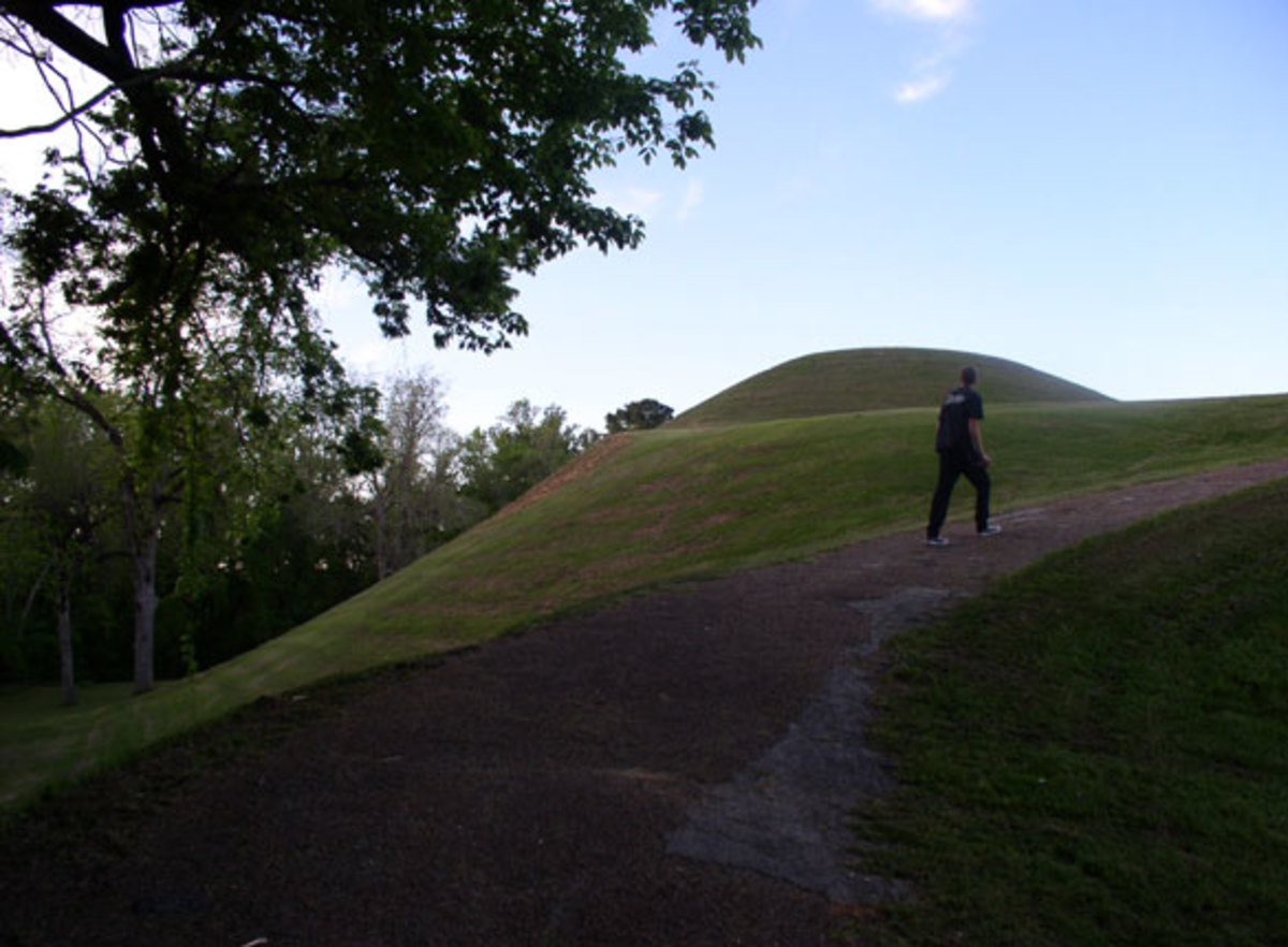 Another view of Emerald Mound