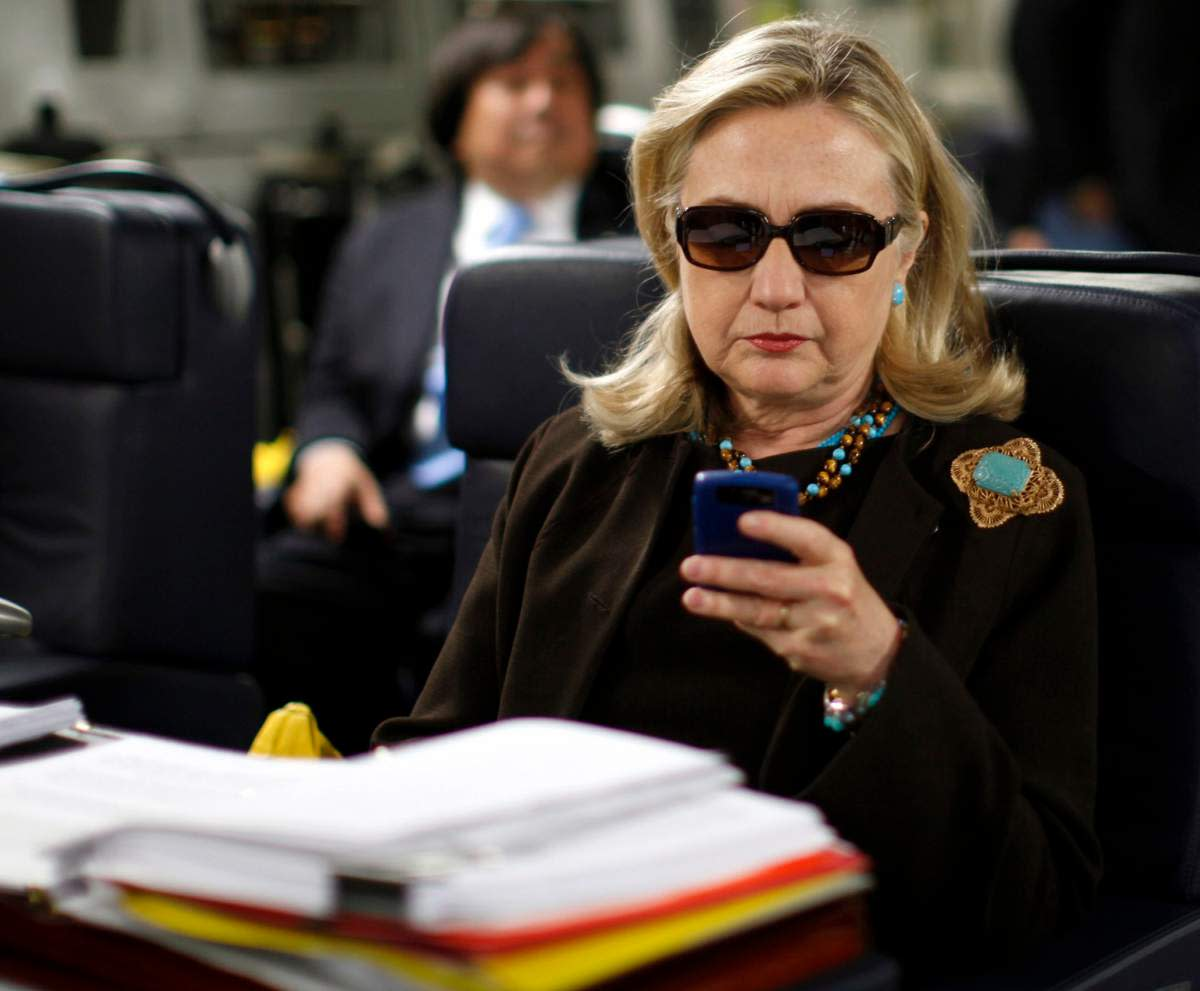 Hillary Clinton -- email issues?
