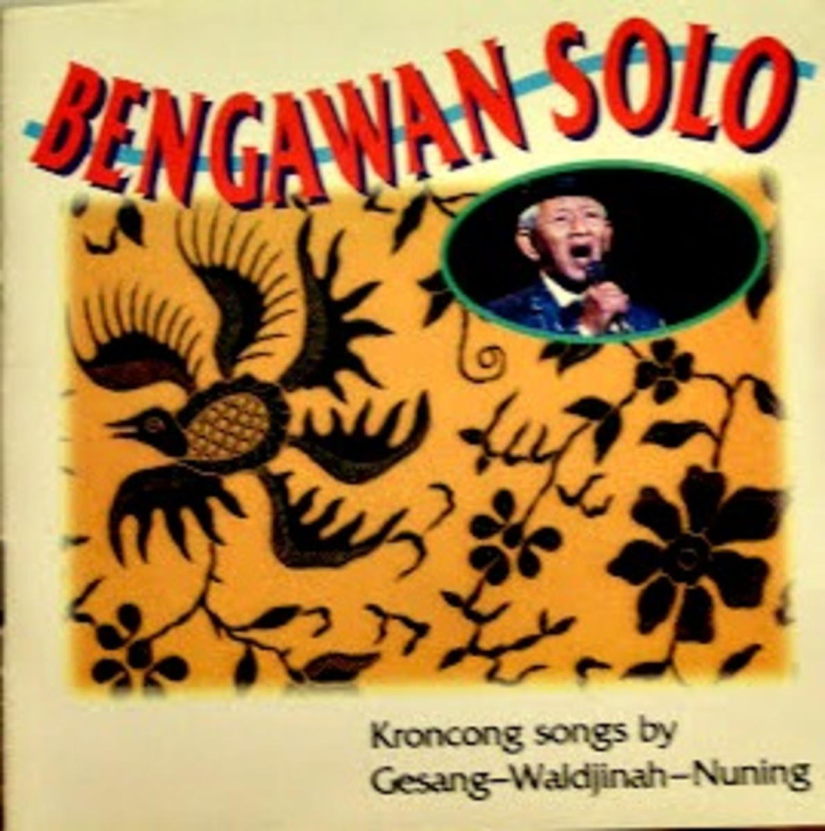 Front cover of the cd jacket