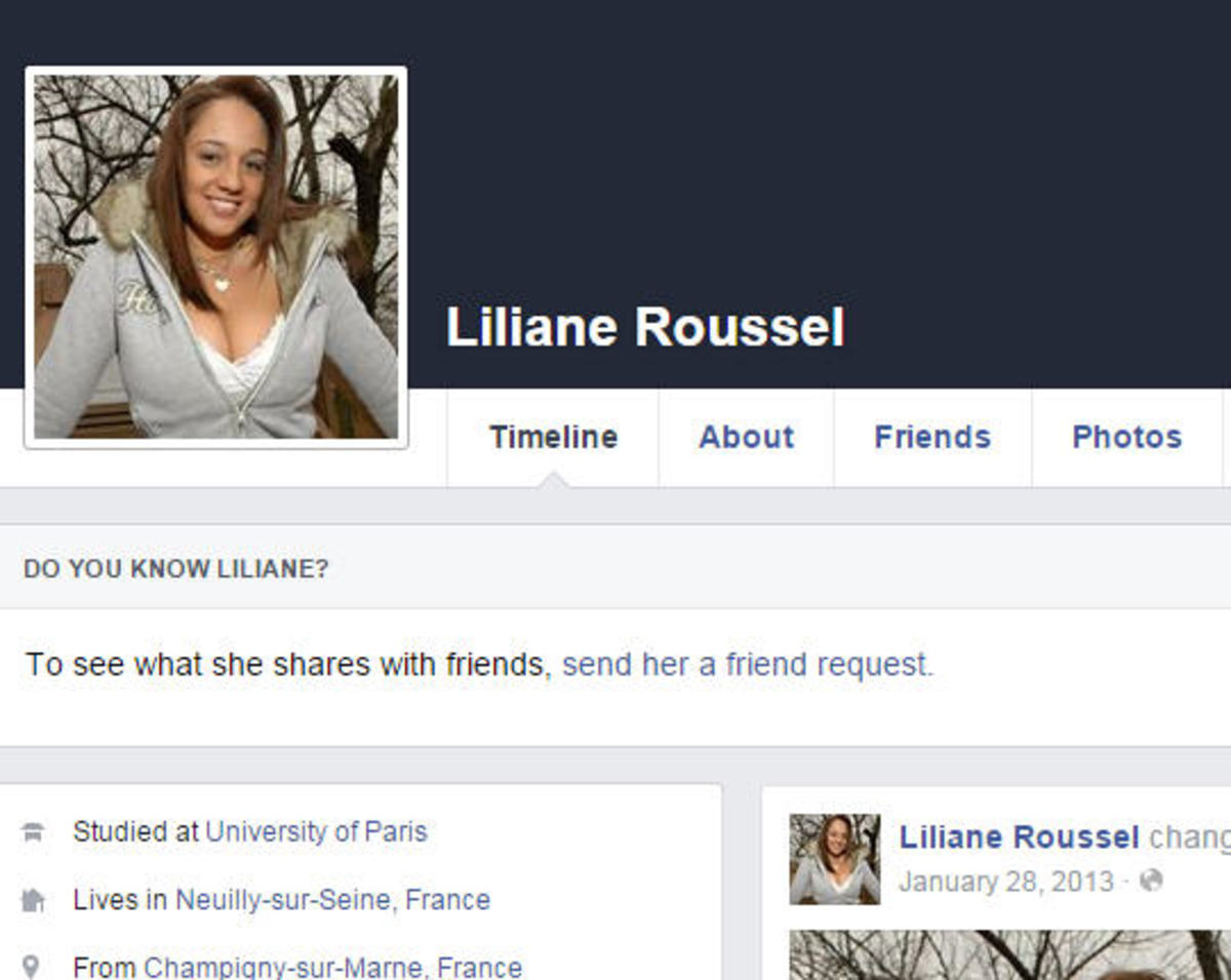 This is also Chelsea Boamah using a different name on FB. But the photo is Nikki Sims, a well known model.